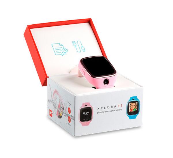 xplora-GPS-kamera-askelmittari-lasten ensipuhelin-lapselle-älykello