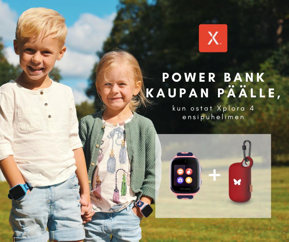 Power bank kaupan päälle