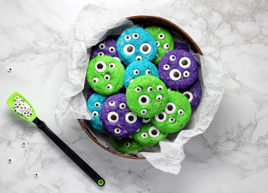 värikkäitä halloween keksejä