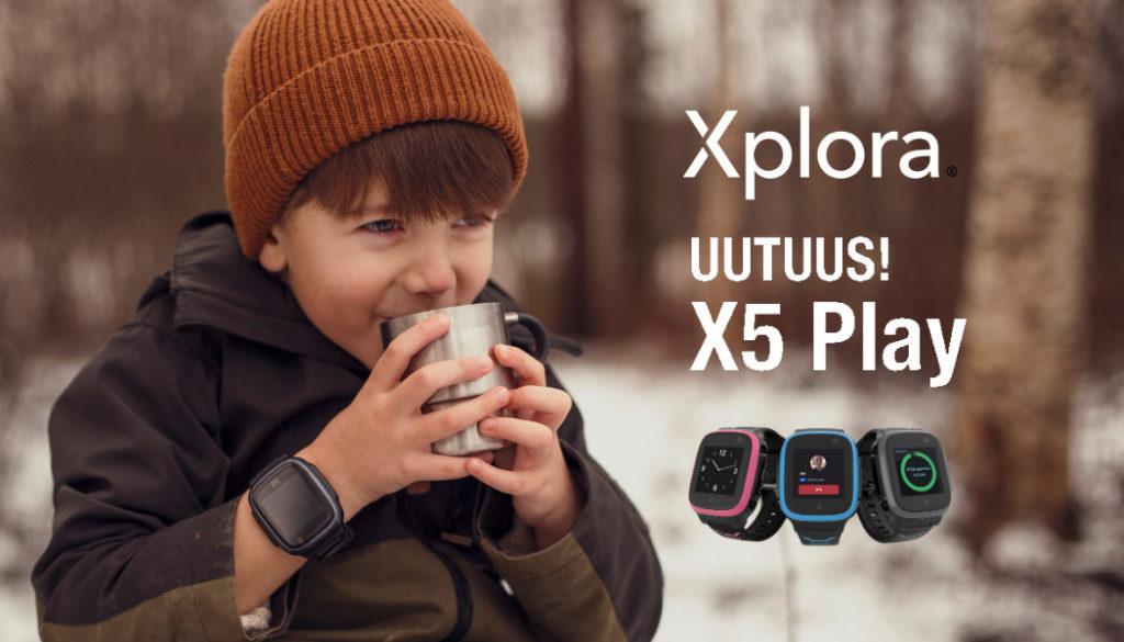 Xplora Uutuus x5 Play