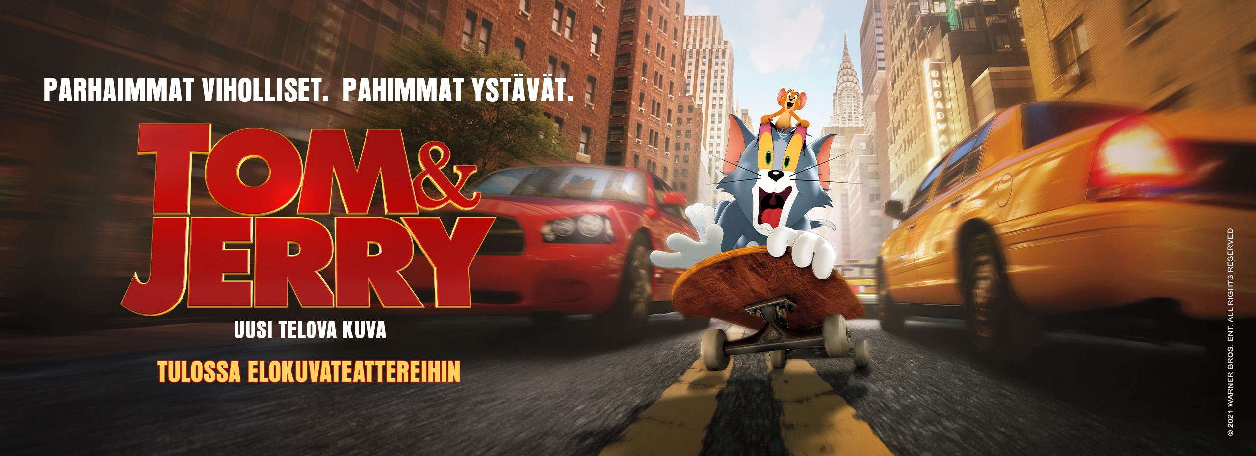 Xplora goplay alustassa nyt Tom & Jerry kampanja