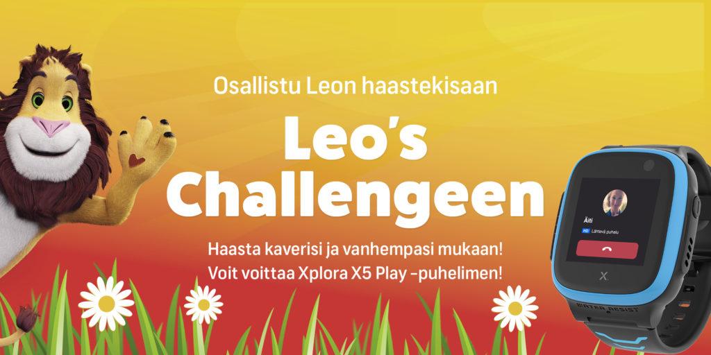 Leo's leikkimaa kilpailu. Voita Xplora