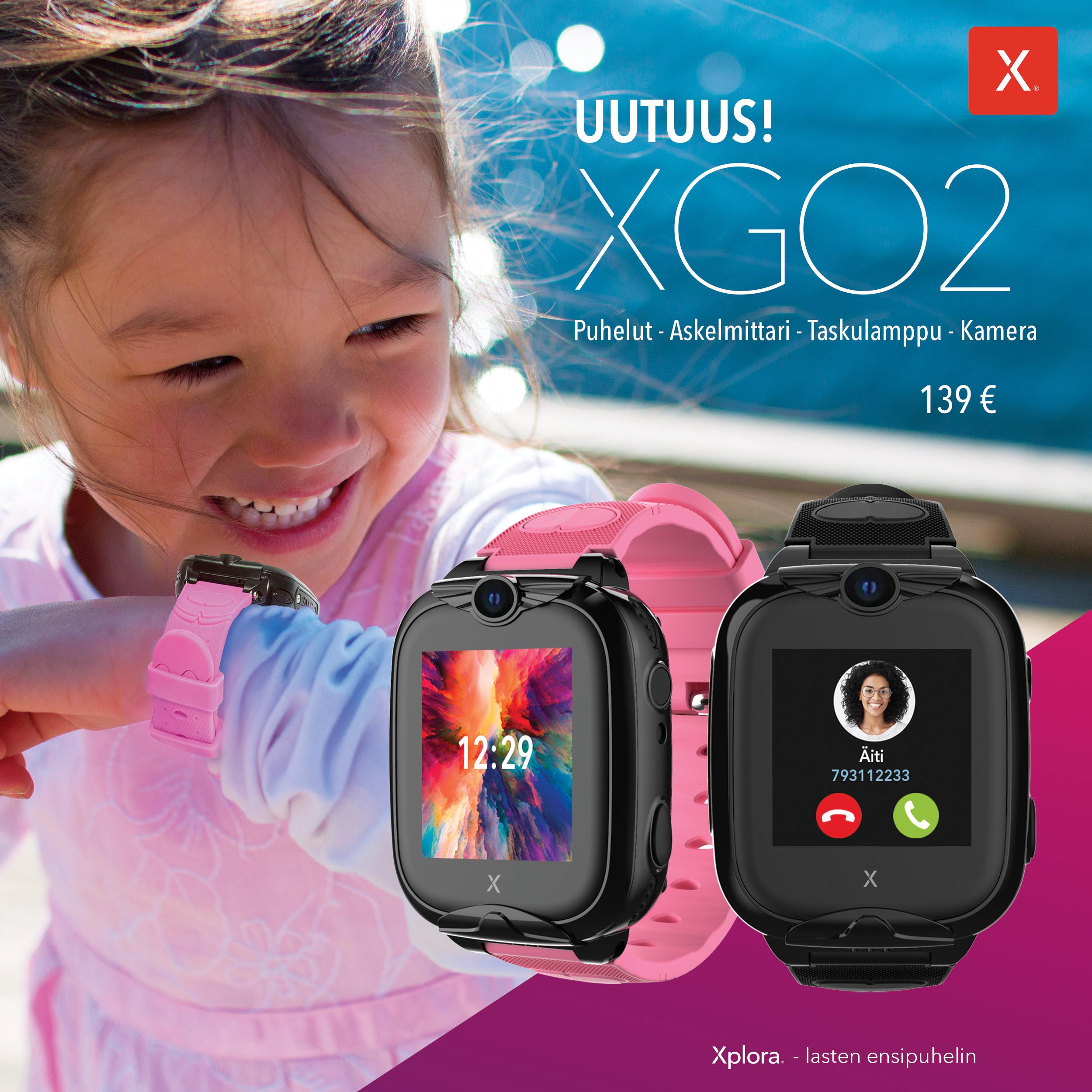 Entistä edullisempi Xplora XGO2 puhelin